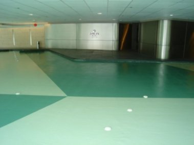store lobby floor