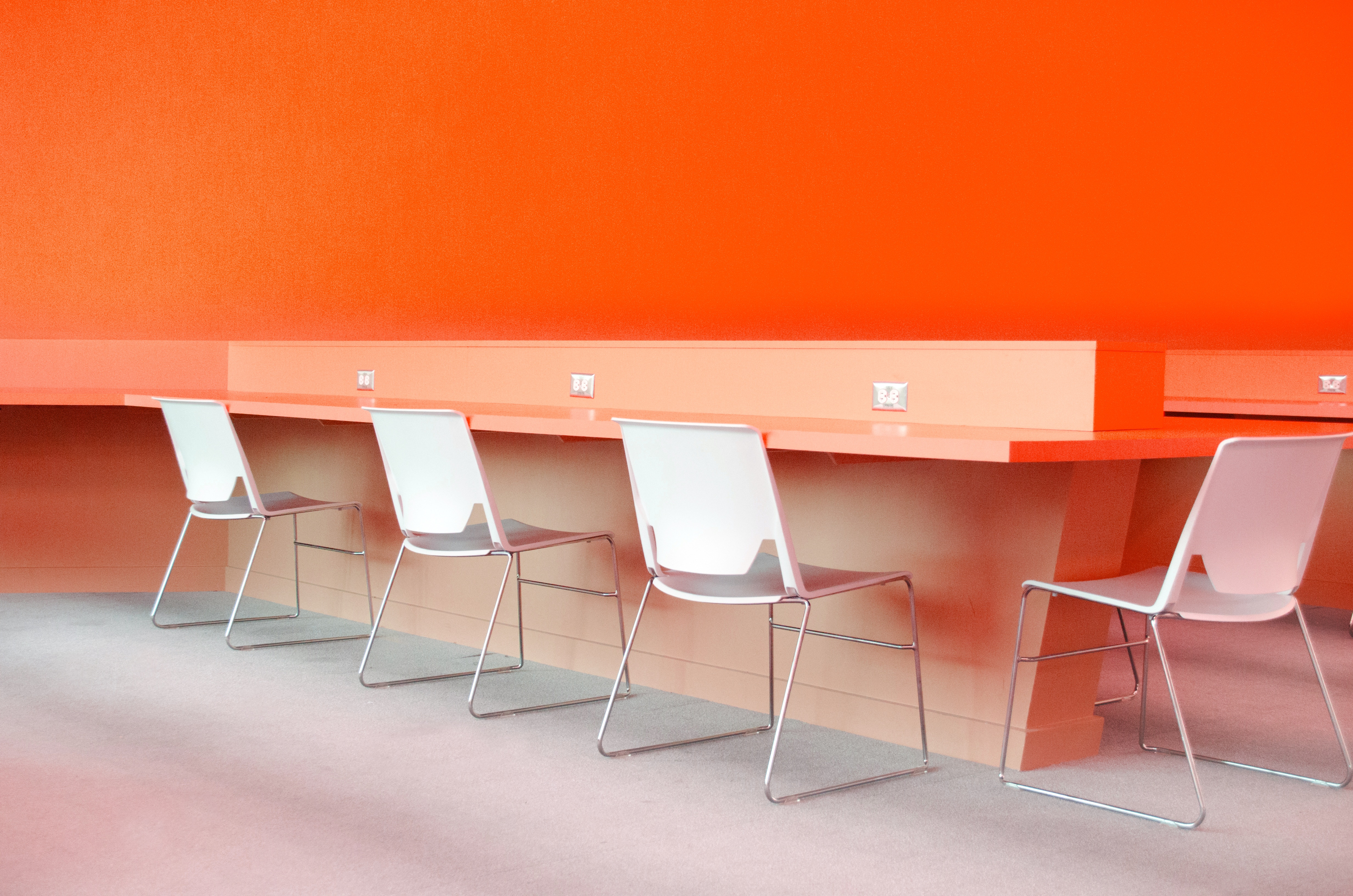 modern shared office space