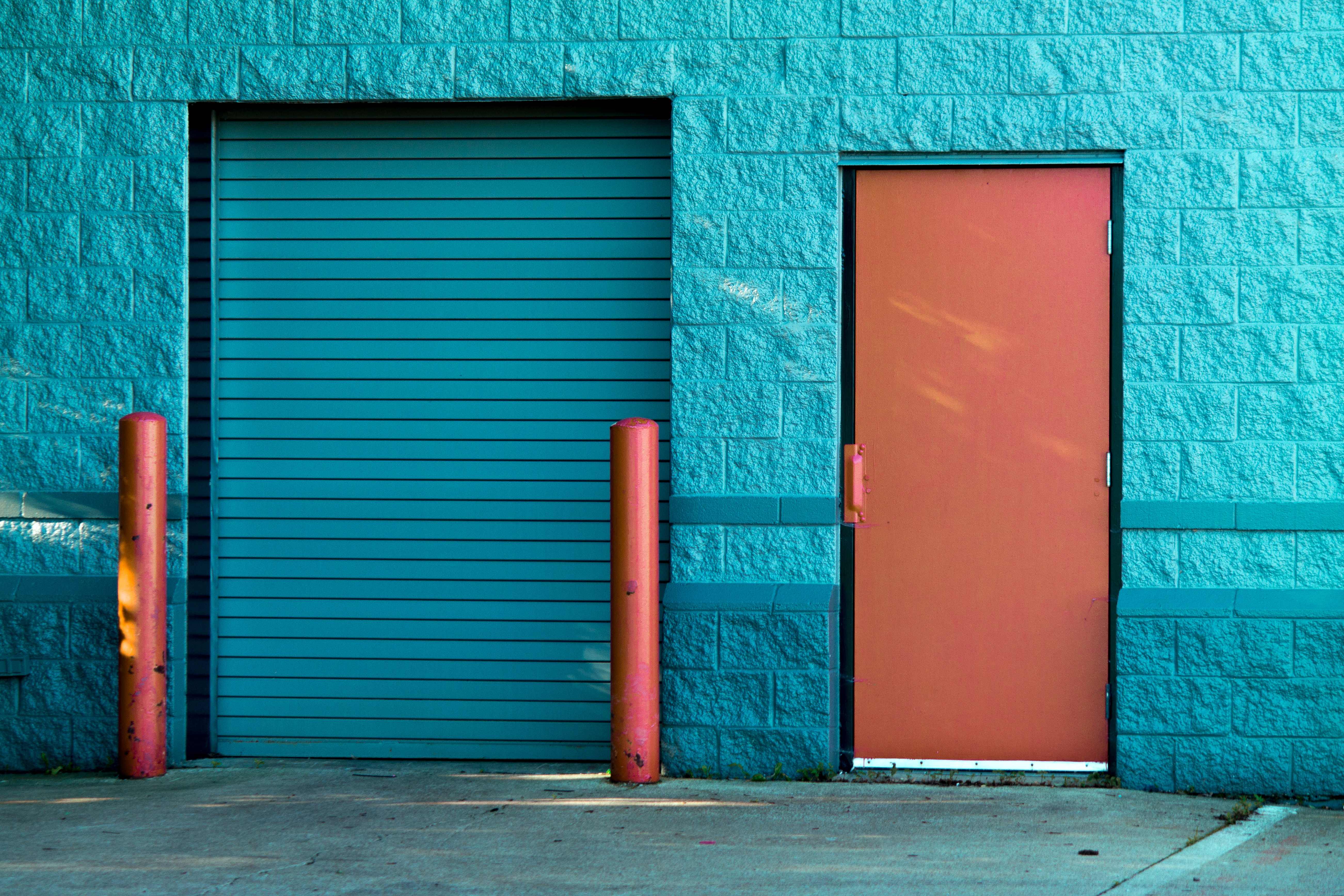 storage area exit doorway
