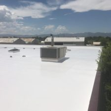 Finished Commercial Roof Coating