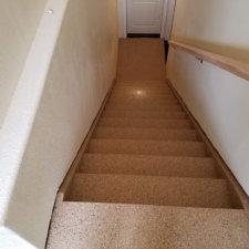 Floor coating - stairs