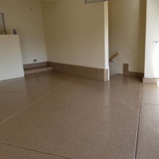 Floor coating angled squares