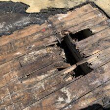 damage roof