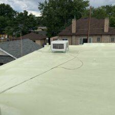 usfinished roof coating