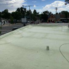 unfinished roof coating