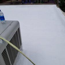 finished roof coating